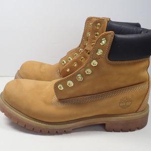 Mens Timberland 6 in Premium waterproof boots, 9.5